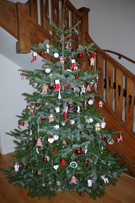 Front Hall Christmas Tree