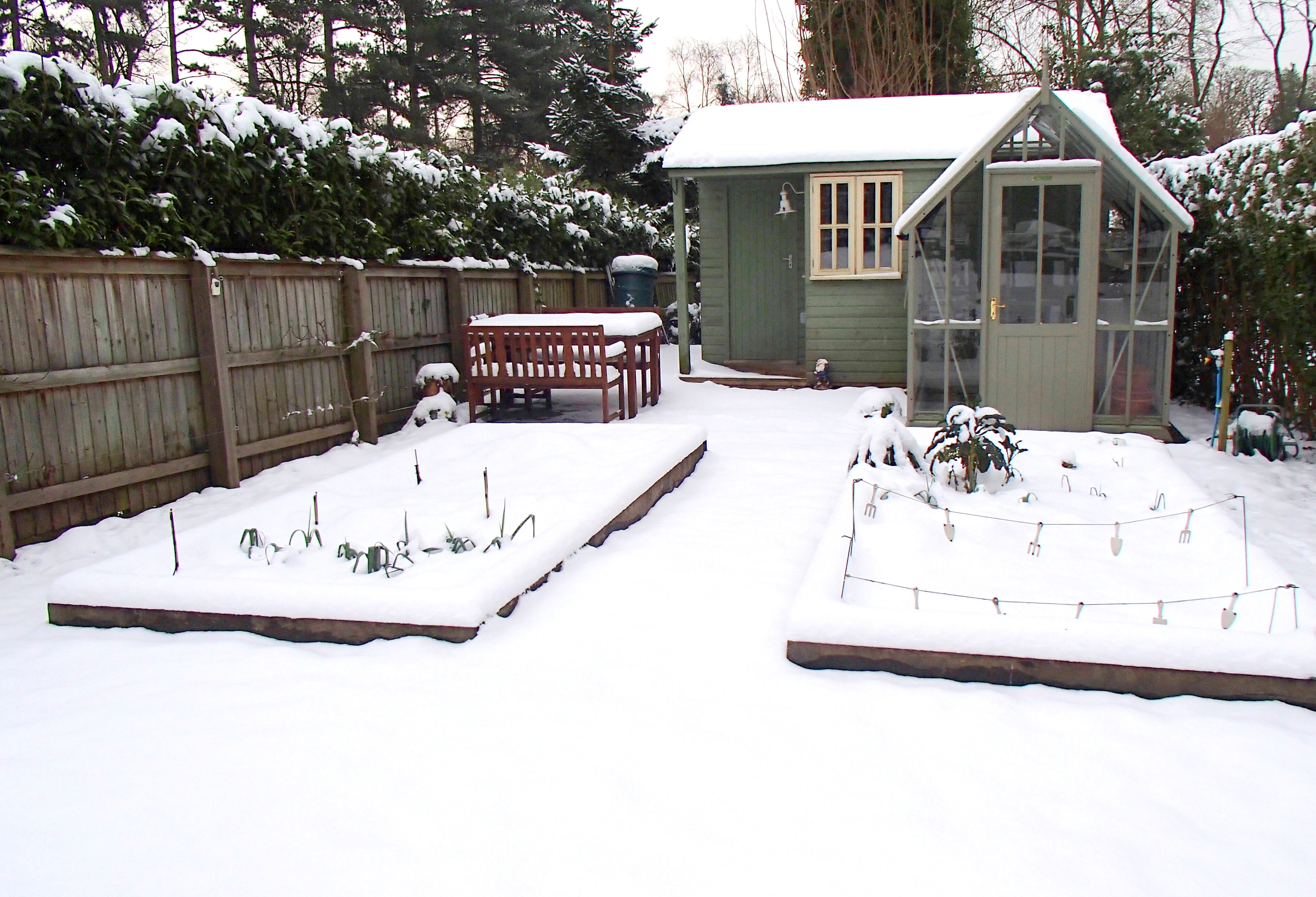 What To Build In The Snow In Garden